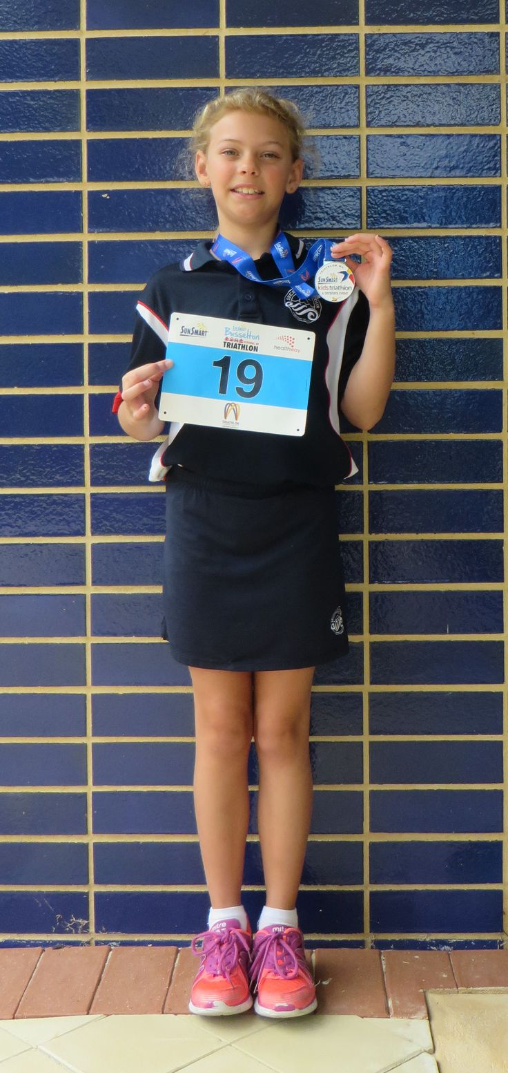 Well done to Kaitlyn who participated in the Tadpoles Triathalon in Busselton.