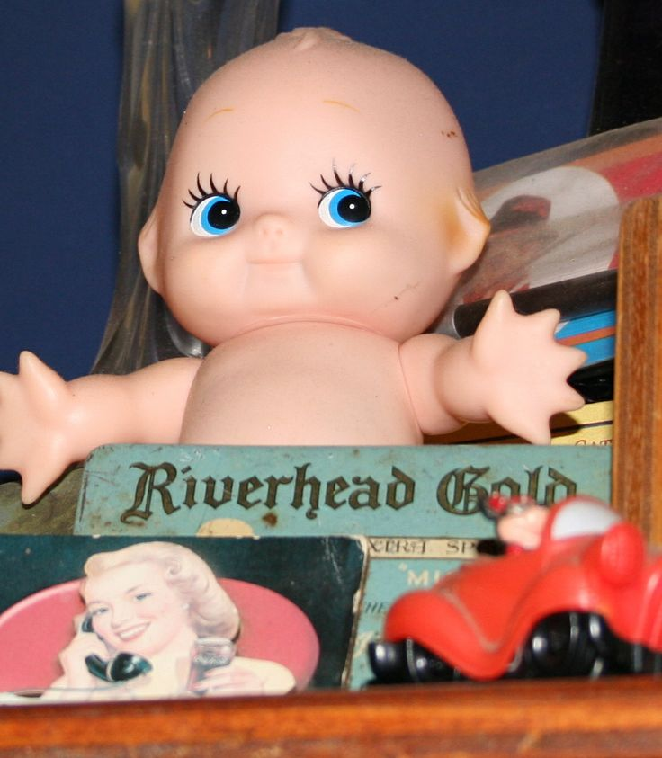 I started collecting Kewpie dolls and after ten years of market hunting got around 20, I love them.