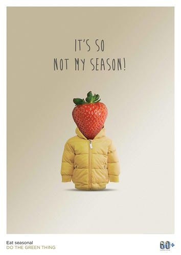 "5 | Top Designers Urge Doing ""The Green Thing"" With Witty Posters 