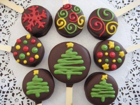 Paletas de Navidad