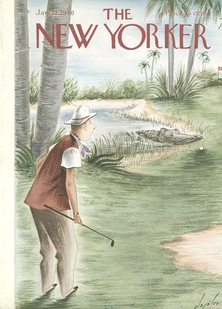 The New Yorker - Saturday, January 27, 1940- Cover by Constantin Alajálov