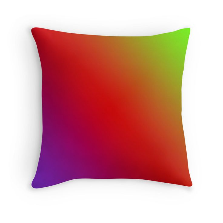 Beautiful Cushions/The Block Collection/TripleThreat GradientGradient Violet Red Green