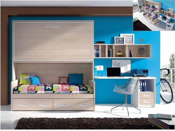 71 best dormitorio adolescente hombre images on pinterest - Dormitorio juvenil malaga ...