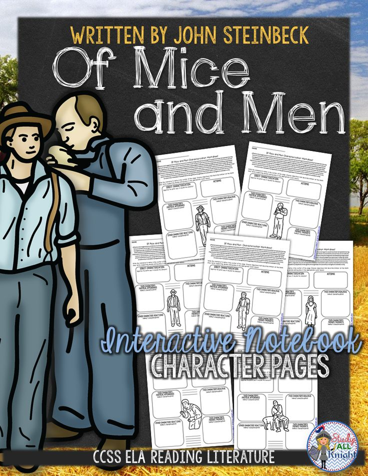 essay for of mice and men