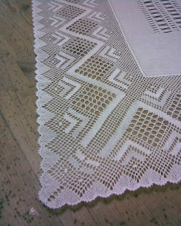 Bobbin lace & needlework.