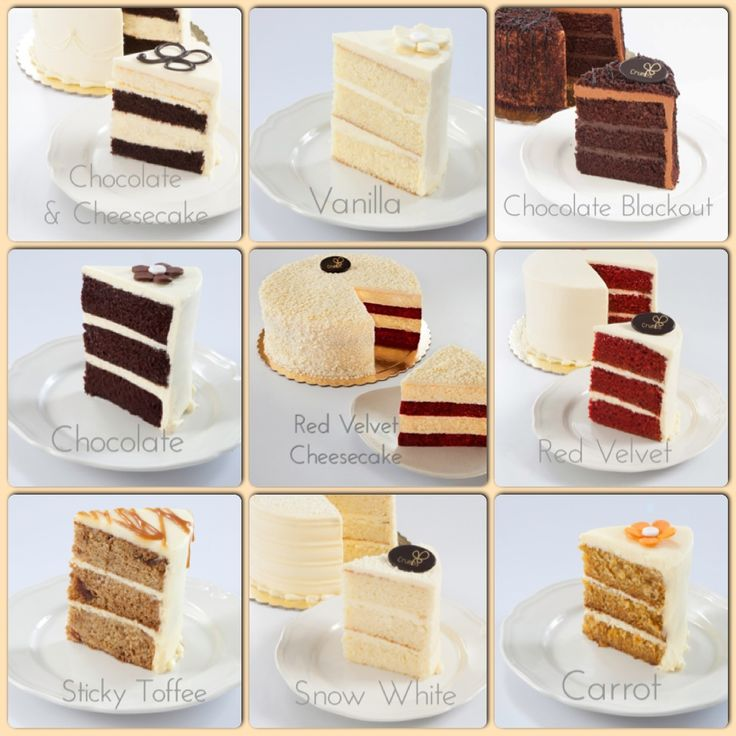 Cake flavor options for your next celebration cake