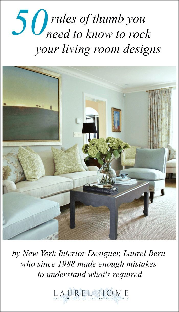 4 Living Room Decorating Rules You Need To Know  Decorating