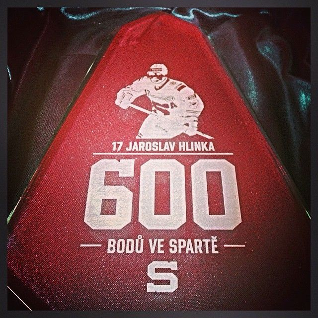 17 Jaroslav Hlinka 600 points  w/ Sparta  https://www.facebook.com/hcsparta/photos/a.126506763231.106144.58826048231/10153150838598232/?type=1