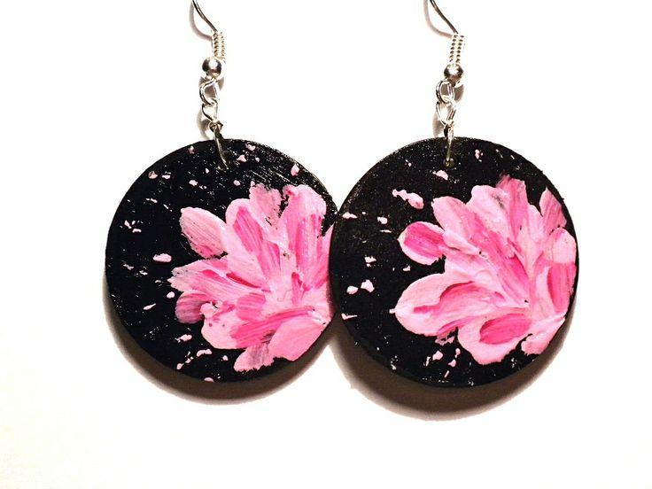 #pink, #handmade, #earrings #jewelry