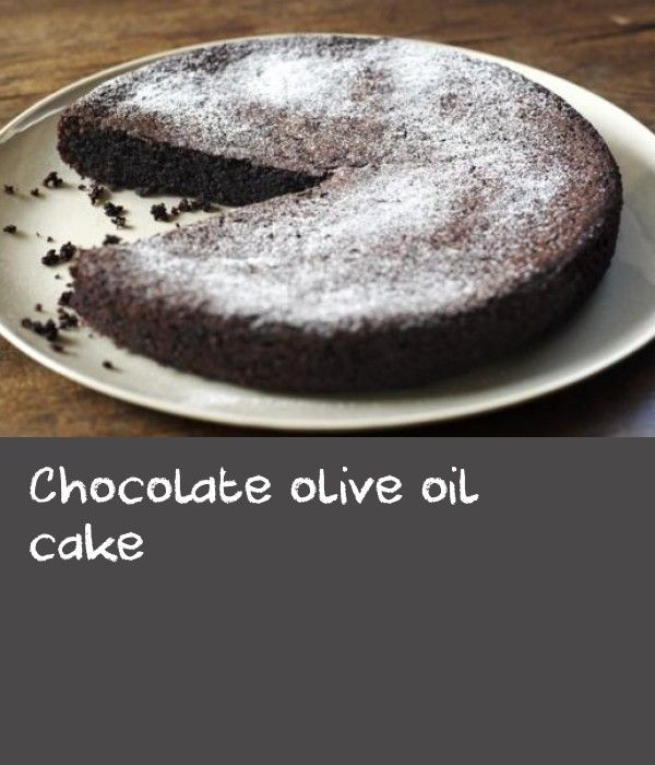 how to make cake with oil