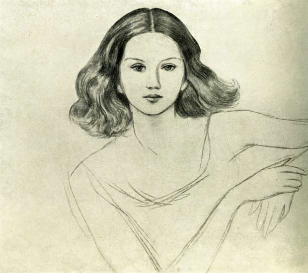 Nils von Dardel - Ingrid von Dardel (The Artist's Daughter) 1940