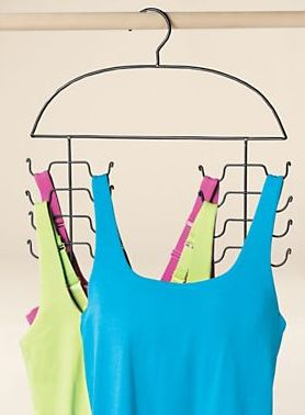 Space-saving hangers. | 25 Ingenious Products That Will Save You So Much Space