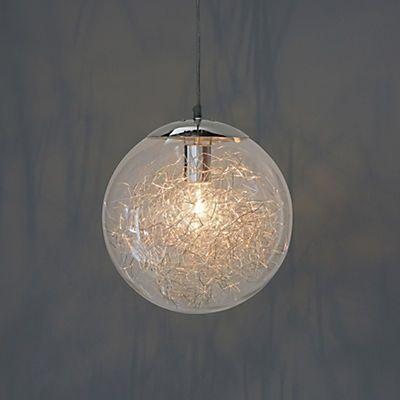 ball suspension design d30cm acier verre id es pour la maison pinterest design. Black Bedroom Furniture Sets. Home Design Ideas