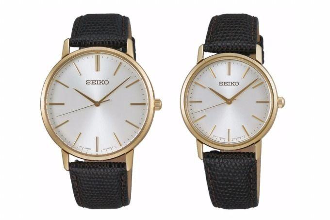 セイコー(SEIKO)は、全14種の新作腕時計「セイコー ゴールドフェザー デザイン復刻モデル」を2017年11月10日(金)より発売する。左から)「セイコー ゴールドフェザー デザイン復刻モデル」は...