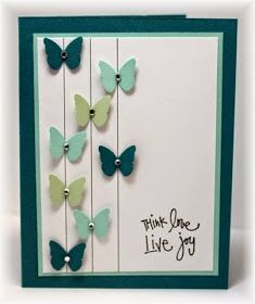 Great simple idea for a stunning card