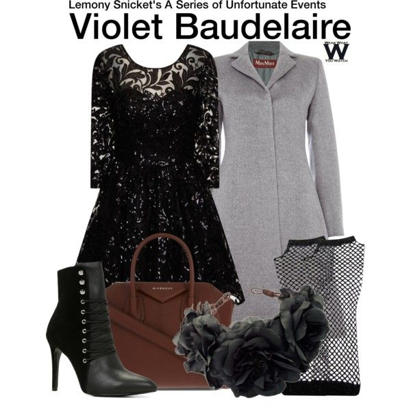 Inspired by Emily Browning as Violet Baudelaire in 2004's A Series of Unfortunate Events