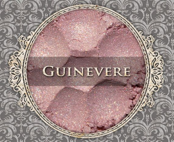 GUINEVERE Mineral Eyeshadow: 5g Sifter Jar by FabledFragrances