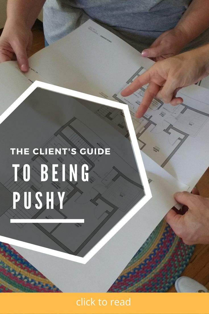 In addition to the services I expected to provide as an architect – drawing, modeling, product research, etc. — I find I give a lot of social and psychological advice.Renovations bring out the best in people. And since that last sentence is written and not spoken, please read it to yourself dripping with sarcasm.