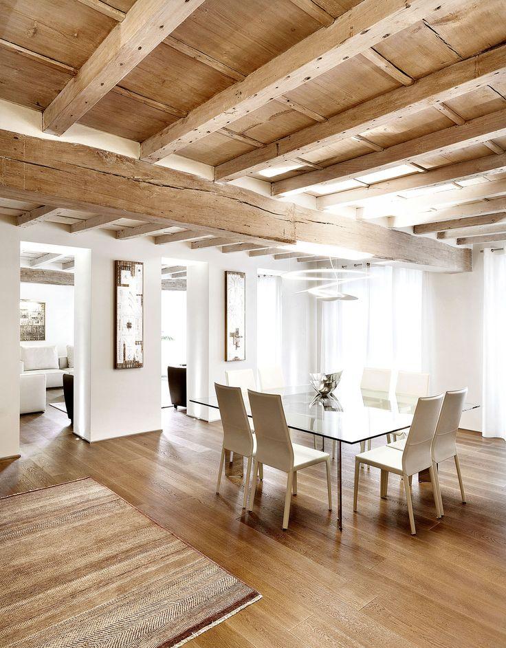 Oltre 25 fantastiche idee su soffitti a travi su pinterest for Travi a vista finte