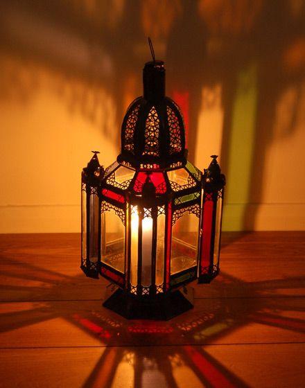 Moroccan Glass Floor Lamp - 52cm