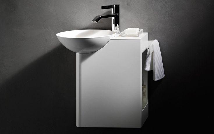 """Waschbecken fürs kleine Bad: """"Insert Storage"""" von Alape - Waschbecken und Waschtische 11 - [SCHÖNER WOHNEN]"""