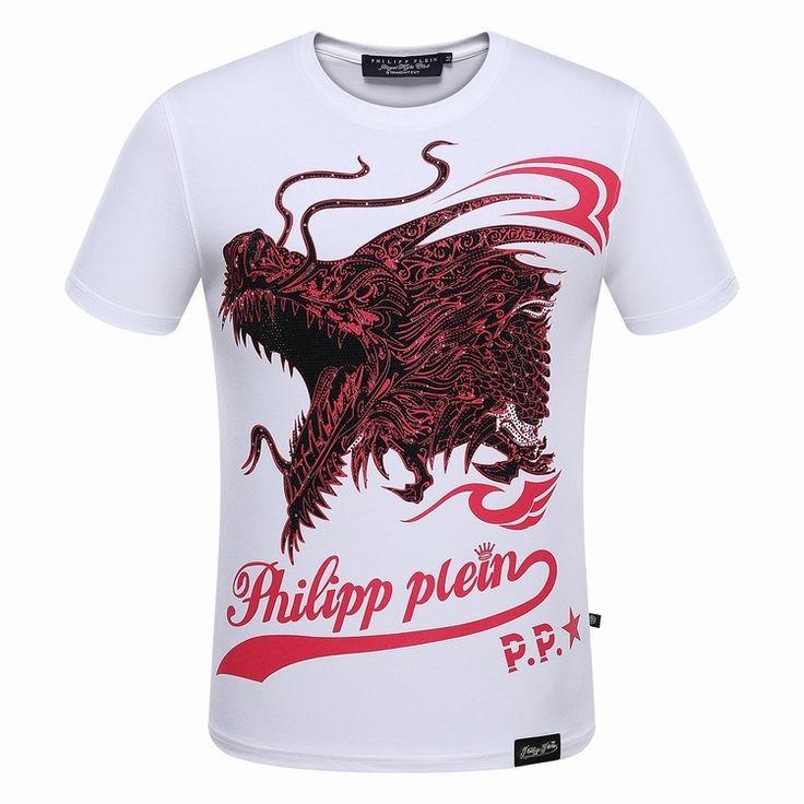 https://www.philippepleinpascher.com/  39 : Phillipp Plein T Shirt Motif Rouge BlancZtEqimnFS
