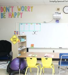 Autism Classroom Setup ! Elementary School classroom with a life skills theme!