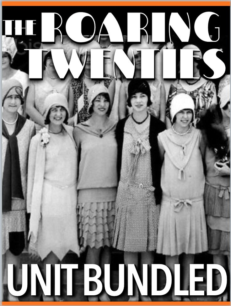 The Twenties Unit - Includes Twenties PowerPoint Lectures, daily warmups, primary source readings, quiz, and daily lesson plans. Just copy and paste into your lesson plans. Each lesson begins with a warm-up, and continues with PowerPoint notes, primary source document readings and a Exit Ticket. Unit also includes an editable test/quiz. Powerpoint notes include lecture/presentation notes to guide you through the presentation.