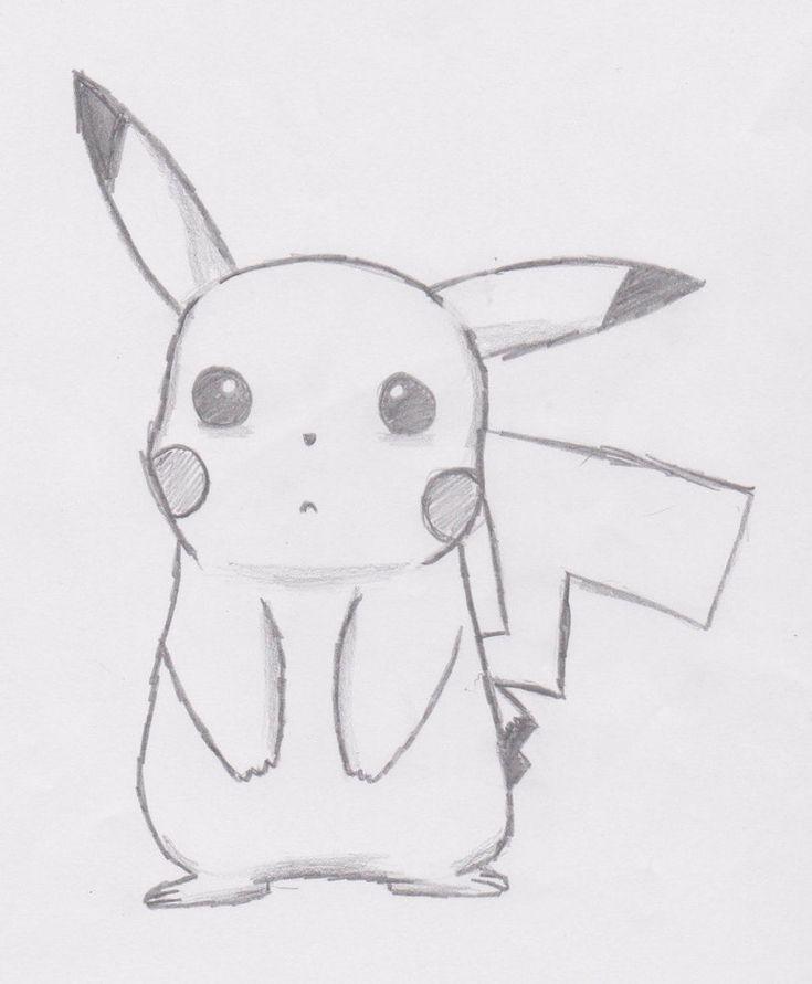 Pikachu (traurig) von J0NNYSH3P - # | Picachu desenho ...