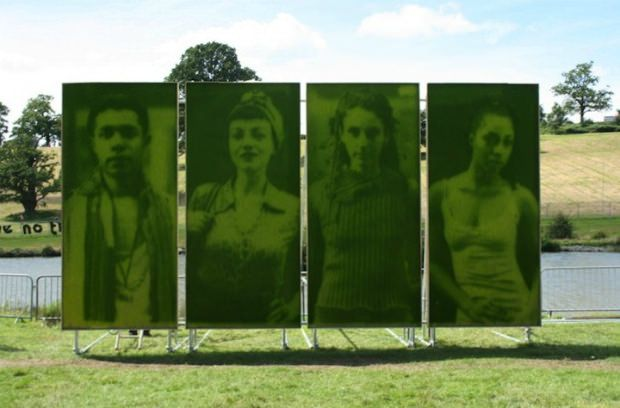 Use of photosynthesis to print photos on grass...so amazing