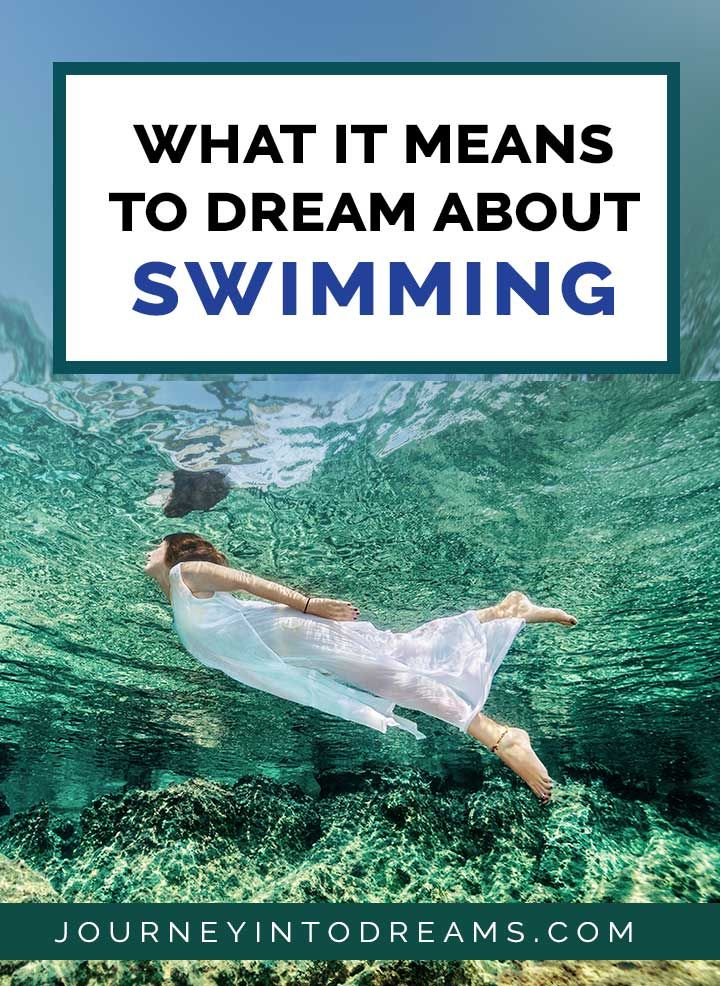 What It Means To Dream About Swimming Dream Meanings Dream Symbols Swimming