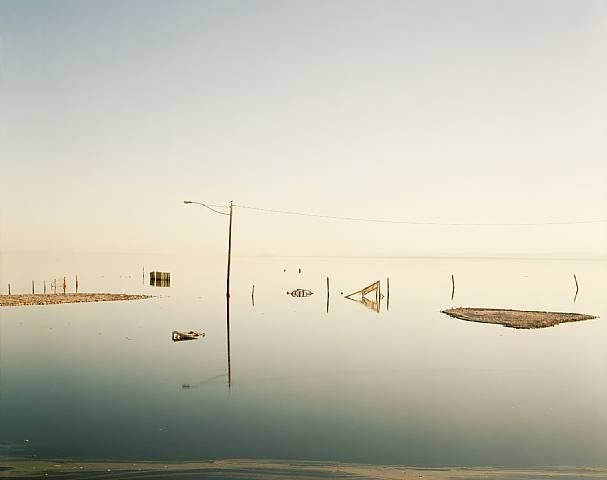 "Richard Misrach - landscape photographer. ""The world is as terrible as it is beautiful, but when you look more closely, it is as beautiful as it is terrible."""