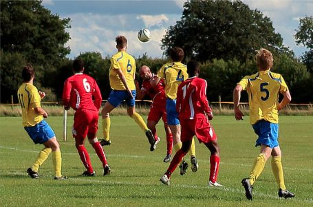 Action from Great Horwood  v Buckingham Town