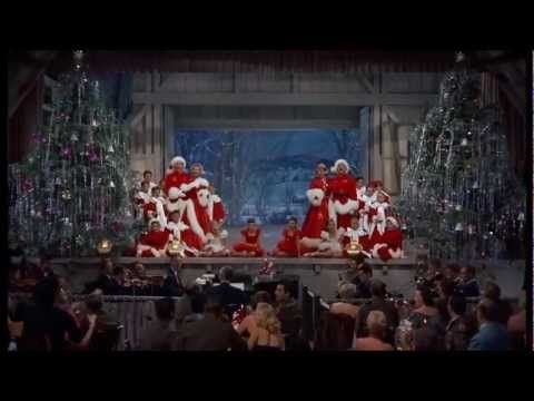 """I'm dreaming of a white Christmas."" The film White Christmas was released in 1954 starring Bing Crosby."