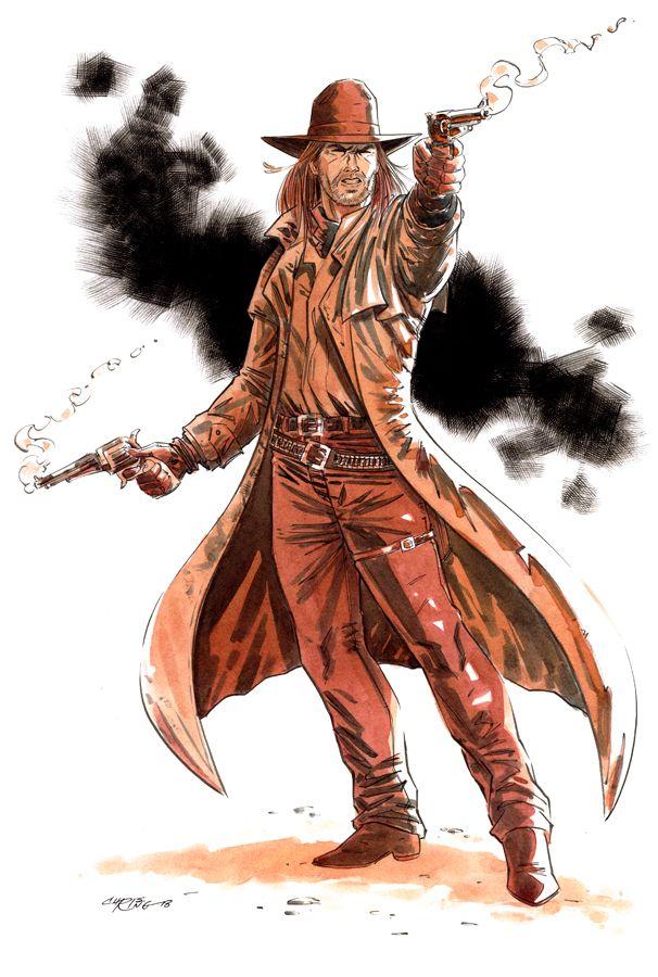 Saint of Killers - Preacher - Chris Ring   Comic Art ...