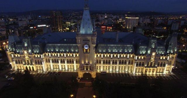 Архитектурное освещение Дворца культуры