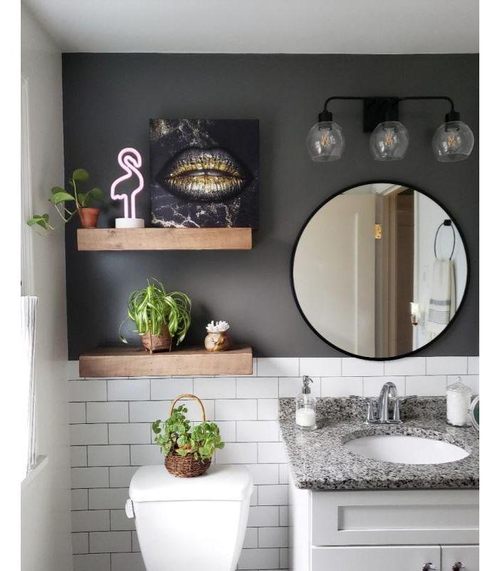 Subway Tile Peel Stick Wallpaper White Threshold In 2021 Bathroom Wall Colors Small Bathroom Decor Bathroom Remodel Master