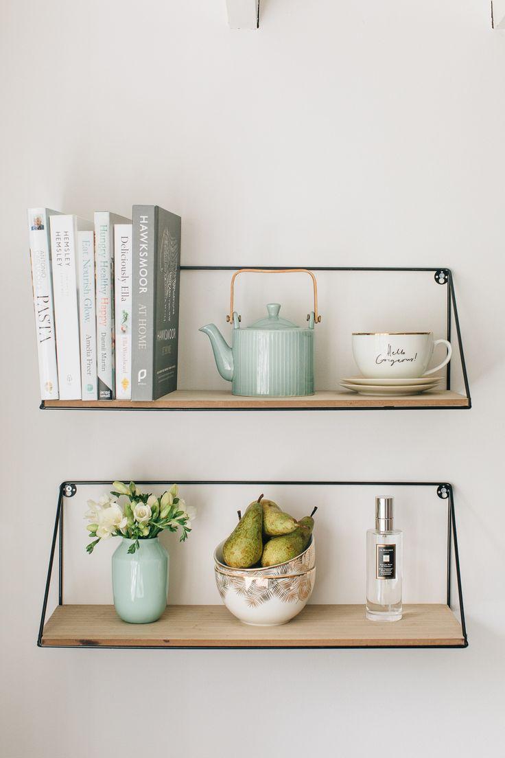 Kitchen Open Shelving - Jo Malone English Pear & Freesia Room Spray