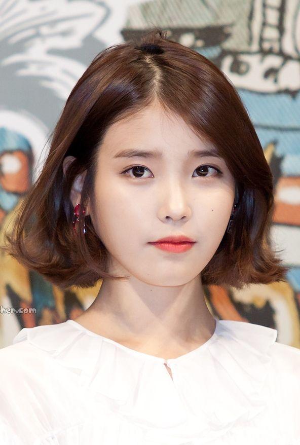 Best Iu Short Hair Ideas On Pinterest Iu Hair Iu Hairstyle - Korean hairstyle on pinterest