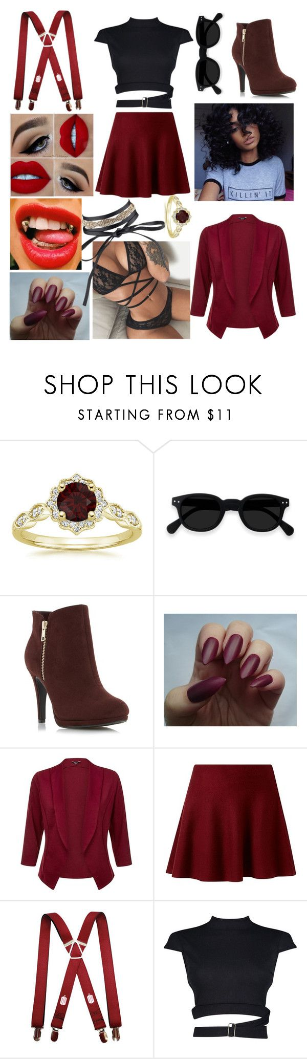 """Light My Body Up - David Guetta ft Nicki Minaj & Lil Wayne"" by practicallysatan ❤ liked on Polyvore featuring Boohoo"