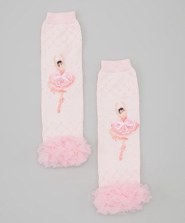 Take a look at this Pink Ballerina Leg Warmers by Wittle Wegs on #zulily today!