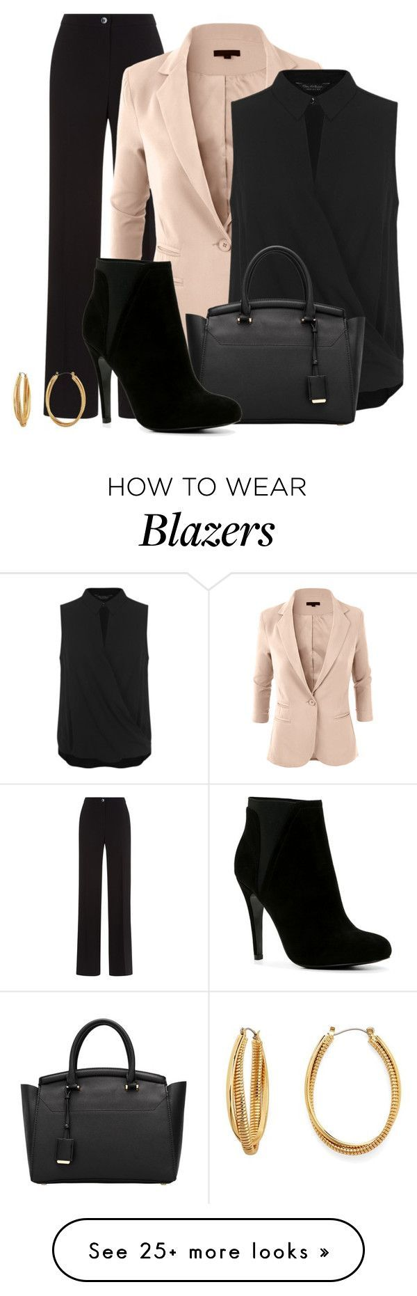 """""""Work Wardrobe 7"""" by vanessa-bohlmann on Polyvore featuring Damsel in a Dress…"""