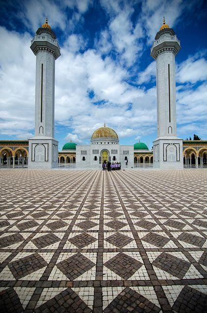 Tunisia - Mausolée de Bourguiba by Louis PERPERE, via Flickr