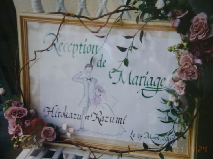 Artificial Flower decoration for a frame by Kent Florist Mikiko Inoue