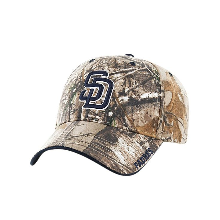 MLB San Diego Padres Fan Favorite Realtree Hat, Adult Unisex