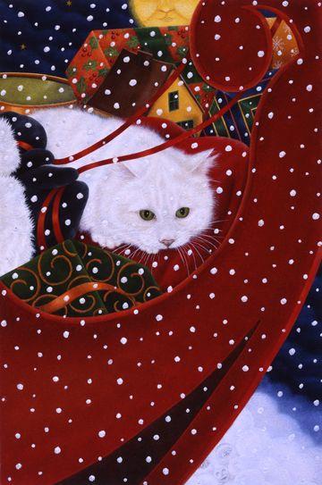 """Santa's Lap Warmer""  by Anne Mortimer"