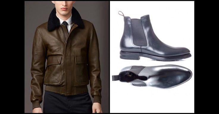 Shearling: men's fashion trend Fall/Winter 201415. Jacket Burberry, Beatles Franceschetti