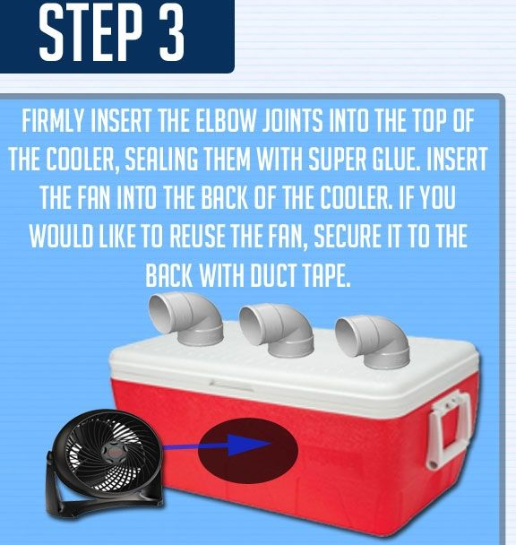 diy advertising business ideas | This DIY Air Conditioner Chills - Creative DIY Ideas