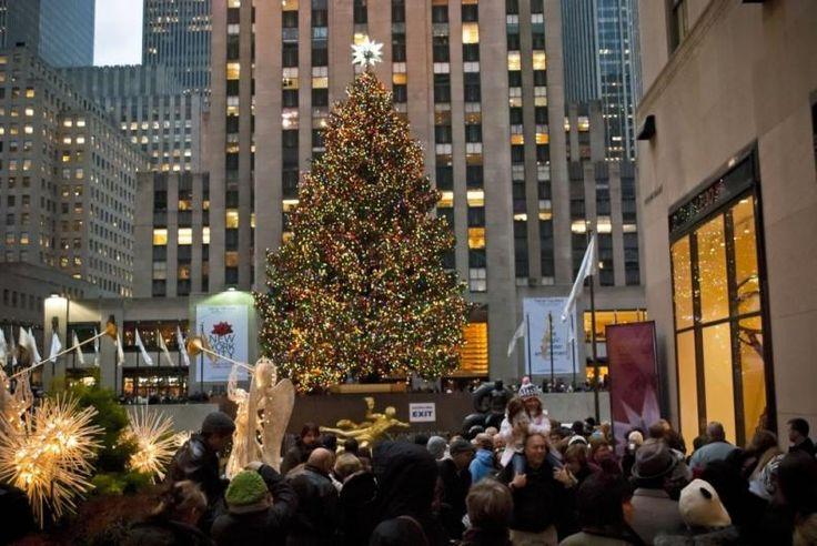 Karácsonyi tömeg New York-ban   Fotó: 123rf.com Andrew Kazmierski