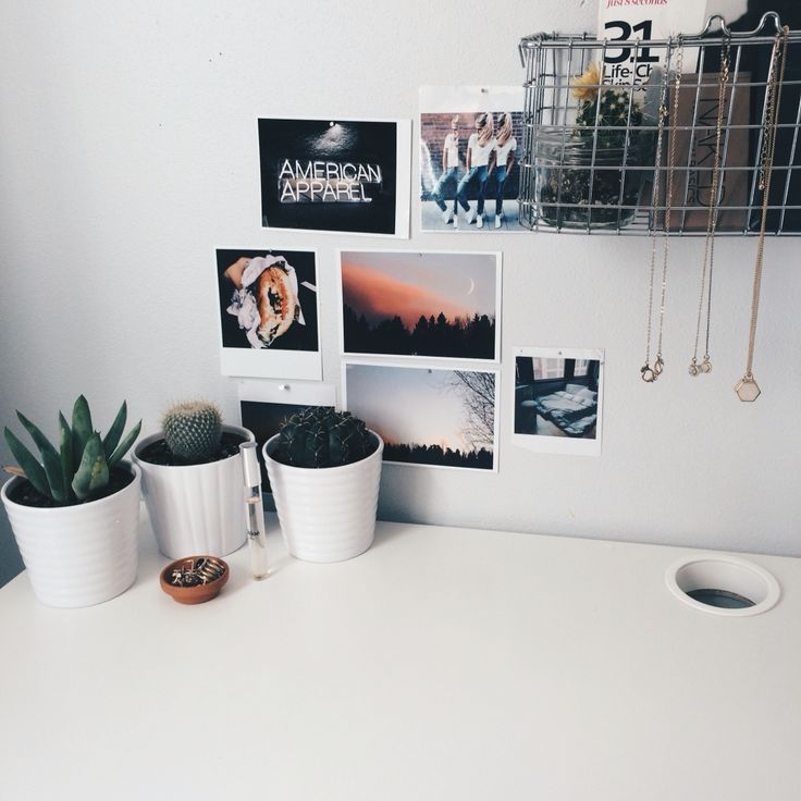 cesta acessórios/makes, suculentas, vasos brancos, fotos
